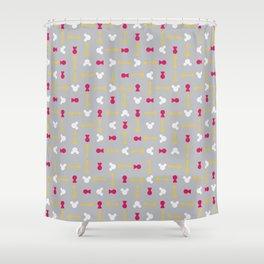 Keyblade Wars Shower Curtain