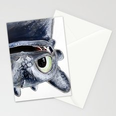 Toothless (Upside Down) Stationery Cards