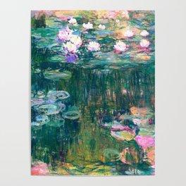 water lilies : Monet Poster