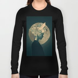 Moonlight Lady Long Sleeve T-shirt