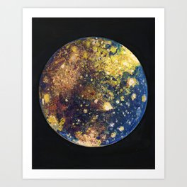 Callisto Moon of Jupiter Art Print