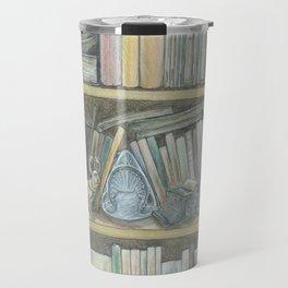 RHX Bookshelf Logo Travel Mug