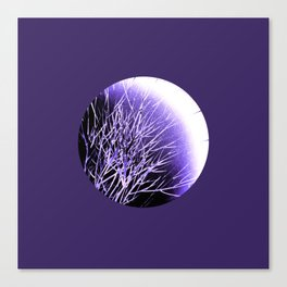 THE UltraViolet MOON Canvas Print