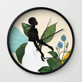 Mesmerized by nature  Wall Clock