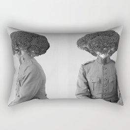 Soldier Broccoli. 1901. Rectangular Pillow