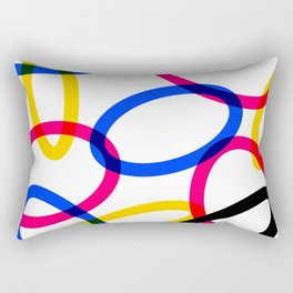 CMYK 01 Rectangular Pillow