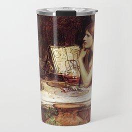 John William Waterhouse Sketch of Circe 1911 Travel Mug