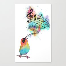 Sing for... Canvas Print