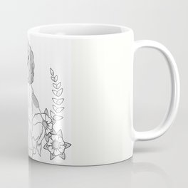 Otis and flowers Coffee Mug