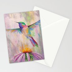 Flying Hummingbird Stationery Cards