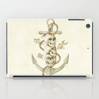 pirates iPad Cases featuring Three Missing Pirates by Mike Koubou