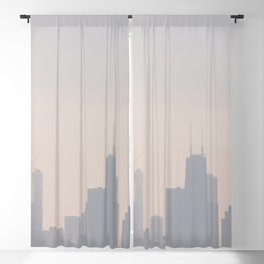 Dreamy Chicago Blackout Curtain
