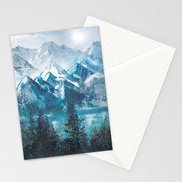 Towering Peaks Stationery Cards