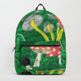 Mushroom Party Backpack