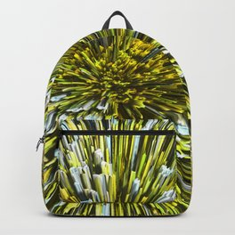 Golden Pompon Backpack