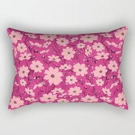 Cosmea pink Rectangular Pillow