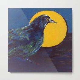 Awakening (American Crow) Metal Print