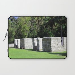 Kingsley Plantation Slave Cabins Laptop Sleeve