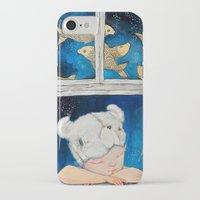dreamer iPhone & iPod Cases featuring Dreamer by Zina Nedelcheva