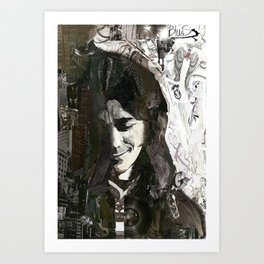 Rory Gallagher Art Print