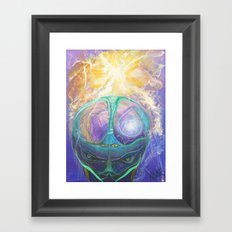 Cerebro Framed Art Print
