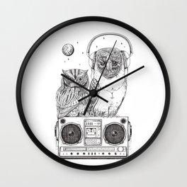 Silent Night ANALOG zine Wall Clock