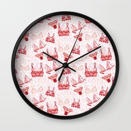 Lingerie Wall Clock