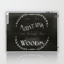 Over the Mountains Laptop & iPad Skin