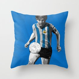 Diego Maradona - Argentina Throw Pillow