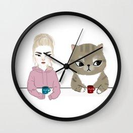 Judging you Wall Clock