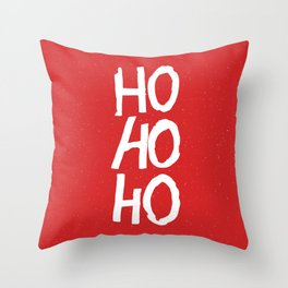 Christmas Ho-Ho-Ho Throw Pillow