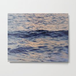 GOLDEN OCEAN Metal Print
