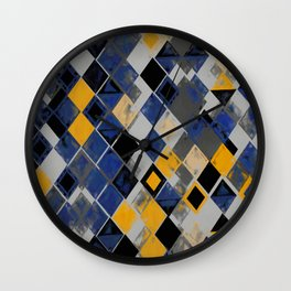 Abstract Composition 390 Wall Clock
