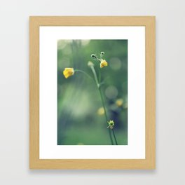 grassland - four Framed Art Print