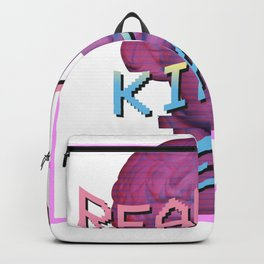 Vaporwave Dreams Design Reality Kills Dreams. Vaporwave Meme design Backpack