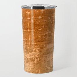 Sego Canyon Petroglyph - Utah Travel Mug