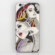 I Believe in beauty 4 iPhone Skin