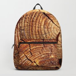 cracked wood Backpack