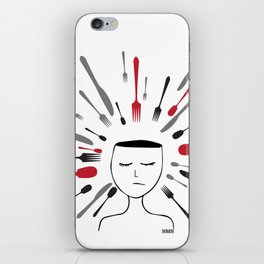 Don't be a victim of your own mind iPhone Skin