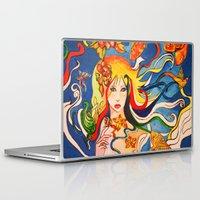 destiny Laptop & iPad Skins featuring Destiny by Ming Myaskovsky