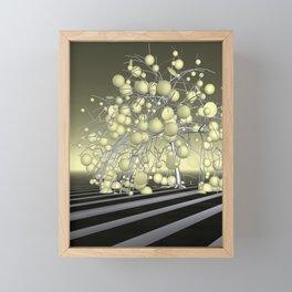 the pale tree Framed Mini Art Print