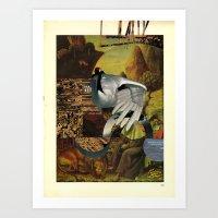 Untitled Collage Art Print