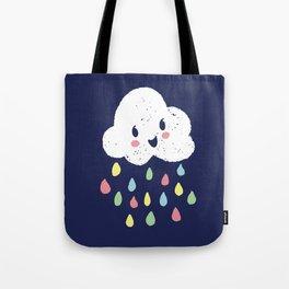 Rainbow Rain - Night Time Tote Bag