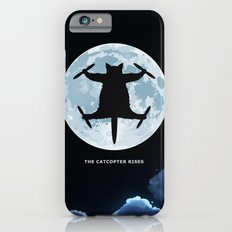 THE CATCOPTER - Humor | Meme | Cat | Internet | Funny | Animal | Bizzarre | Moon  iPhone 6s Slim Case