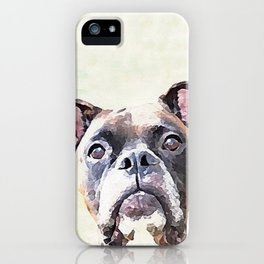 Brindle Boxer Dog iPhone Case