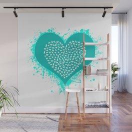 Cat Love Wall Mural