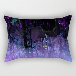 The Witches Haunt Rectangular Pillow