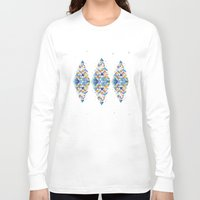 diamond Long Sleeve T-shirts featuring Diamond  by sandesign