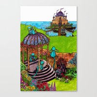 monkey island Canvas Prints featuring Monkey Island by Charlie L'amour