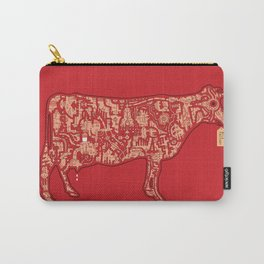 Milk Factory Cow Carry-All Pouch